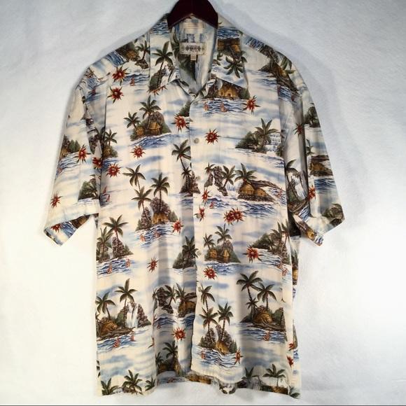 bdac527fa Campia Moda Shirts | Mens Hawaiian Shirt 100 Cotton Xl | Poshmark